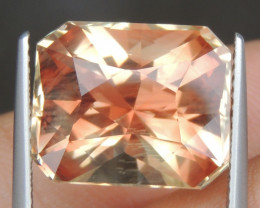11.04cts Oregon Sunstone,   Top Brilliant Cut,  Untreated