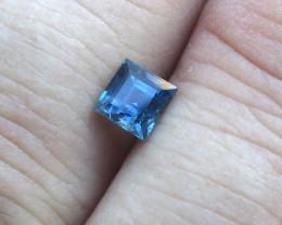 0.77cts Natural Australian Blue Sapphire Square Cut