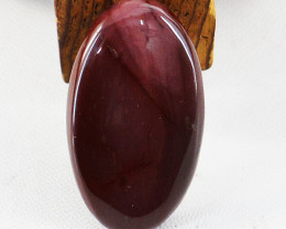 Genuine 45.00 Cts Untreated Oval Shape Mossiac Jasper Cabochon