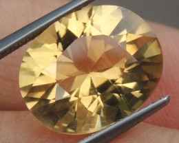 6.56cts Citrine,  Top Brilliant Cut