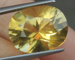 7.12cts Citrine,  Top Brilliant Cut