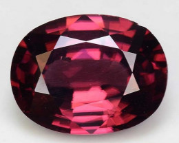 3.90 Cts Rare Pink Zircon Untreated  Exceptional Color ~ Cambodia PZ8