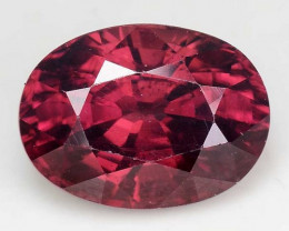 4.39 Cts Rare Pink Zircon Untreated  Exceptional Color ~ Cambodia PZ10