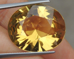 19.52cts Citrine,  Top Brilliant Cut