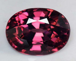 3.71 Cts Rare Pink Zircon Untreated  Exceptional Color ~ Cambodia PZ11
