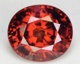 3.97 Cts Rare Pink Zircon Untreated  Exceptional Color ~ Cambodia PZ13