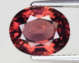 3.37 Cts Rare Pink Zircon Untreated  Exceptional Color ~ Cambodia PZ14