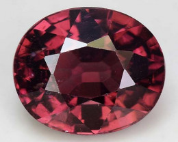 3.40 Cts Rare Pink Zircon Untreated  Exceptional Color ~ Cambodia PZ16