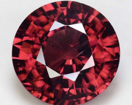 4.84 Cts Rare Pink Zircon Untreated  Exceptional Color ~ Cambodia PZ19