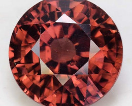 4.07 Cts Rare Pink Zircon Untreated  Exceptional Color ~ Cambodia PZ20