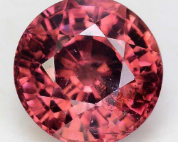 3.65 Cts Rare Pink Zircon Untreated  Exceptional Color ~ Cambodia PZ22