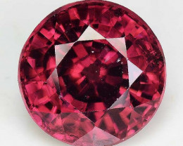 3.25 Cts Rare Pink Zircon Untreated  Exceptional Color ~ Cambodia PZ24