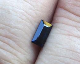 0.45cts Natural Australian Blue Sapphire Baguette Cut