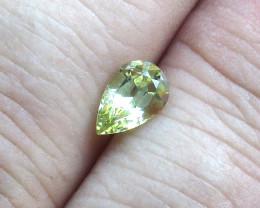 1.03cts Natural Australian Pear Sapphire Pear Shape