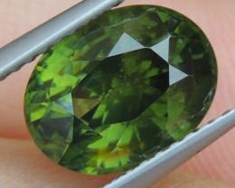 3.75cts,  Green Zircon, Eye Clean,