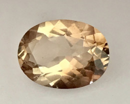 A Lovely Glowing Piece of Peach Topaz - Brazil