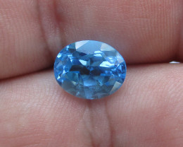 4.60cts Natural Swiss Blue Topaz Oval Cut