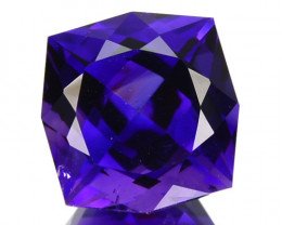 ~JEWELRY GRADE~ 3.65 Cts Natural AAA Purple Amethyst Fancy Cut Bolivia