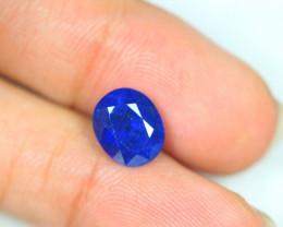 4.68ct Blue Sapphire Composite Oval Cut Lot GW3024