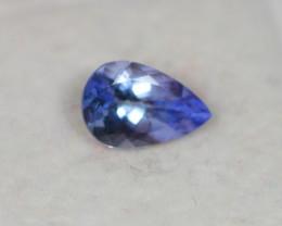 1.33Ct Violet Blue Tanzanite Pear Cut Lot LZB501