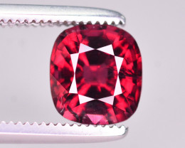 Rarest 1.35 Ct Top Quality Natural Red Spinel From Burma. ARA