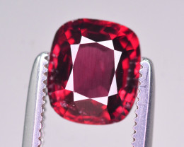 Rare 1.40 Ct Marvelous Color Natural Red Spinel From Burma. ARA