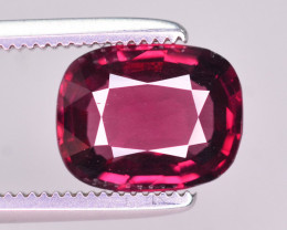 Rarest 1.85 Ct Brilliant Color Natural Pinkish Red Spinel. ARA