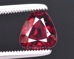 Rare 1.85 Ct Marvelous Color Natural Red Spinel. ARA