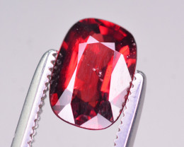 Rarest 1.20 Ct Superb Color Natural Orange Red Spinel. ARA