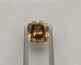 VIDEO + GIA certified Natural Fancy orangy Brown Diamond