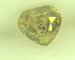 0.46ct  Fancy yellowish Green Diamond , 100% Natural Untreated