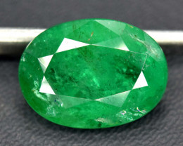 4.60 cts Oval Cut Zambian Emerald Gemstone