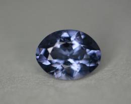 1.90 cts certified Sri Lankan spinel.  Greenish-blue.