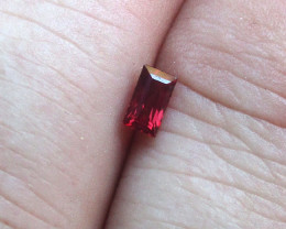 0.35cts Natural Ruby Baguette Shape