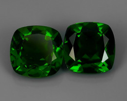 1.80~Cts MARVELOUS RARE NATURAL TOP GREEN- CHROME DIOPSIDE DAZZLING  NR!!