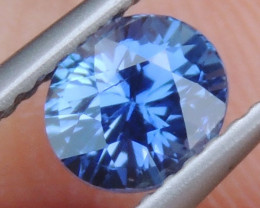 1.03cts No Heat, Certified  Sapphire, Top Cut