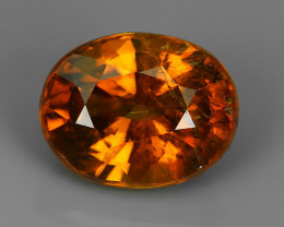 1.72 CTS STYLISH TOP NEW RARE NATURAL OVAL BROWN~COLOR MALI GARNET