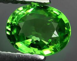 ATTRACTIVE LUSTER GREEN NATURAL TSAVORITE GARNET NR!!!