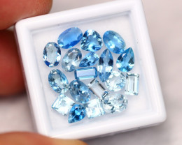 6.73Ct Natural VS Clarity Blue Aquamarine Lot ~ A1604