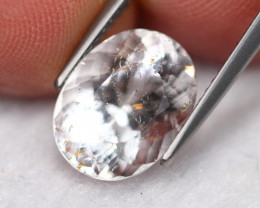 4.67Ct Ex-Luster VS Clarity White Morganite (Pink Emerald) ~ A1608