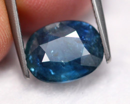 3.21Ct Natural Blue Sapphire Traditional Heated ~ A1609