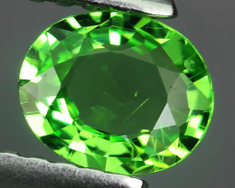 !!!DAZZLING RARE NATURAL EARTH MINED TOP GREEN GARNET TSAVORITE NR!!!
