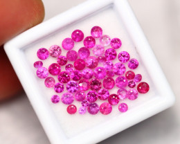 4.90Ct Mozambique Pinkish Red Ruby Heated Only ~ B1605