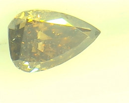 0.32ct Fancy Deep Brown  Diamond , 100% Natural Untreated