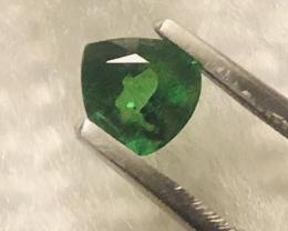 GGA-057C TSAVORITE -Screaming Green !! MASTER CUT 100% NATUR