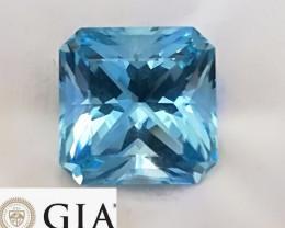 19.85 cts GIA Aquamarine - Santa Maria, Brazil $20,000