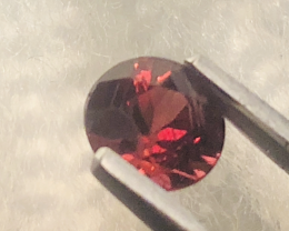 GGA-1.06CT RHODOLITE GARNETPurplish  PERFECT SIZE FOR JEWELLERY - MASTER CU