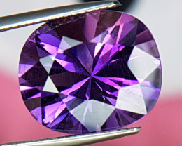 9.91cts, Amethyst,  Top Cut, Clean, Untreated,