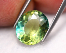 3.07Ct Natural Color Change Green Apatite  R40