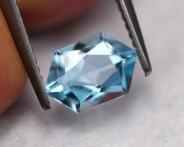 1.70Ct Natural VS Clarity Blue Color Aquamarine  R73